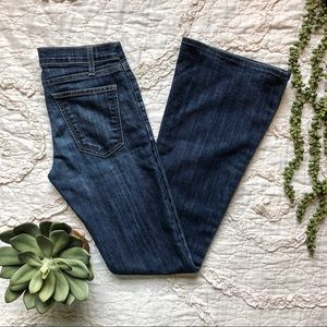 Current/Elliot The Low Bell Jeans